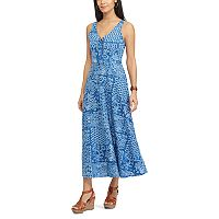 Women's Chaps Patchwork Maxi Dress