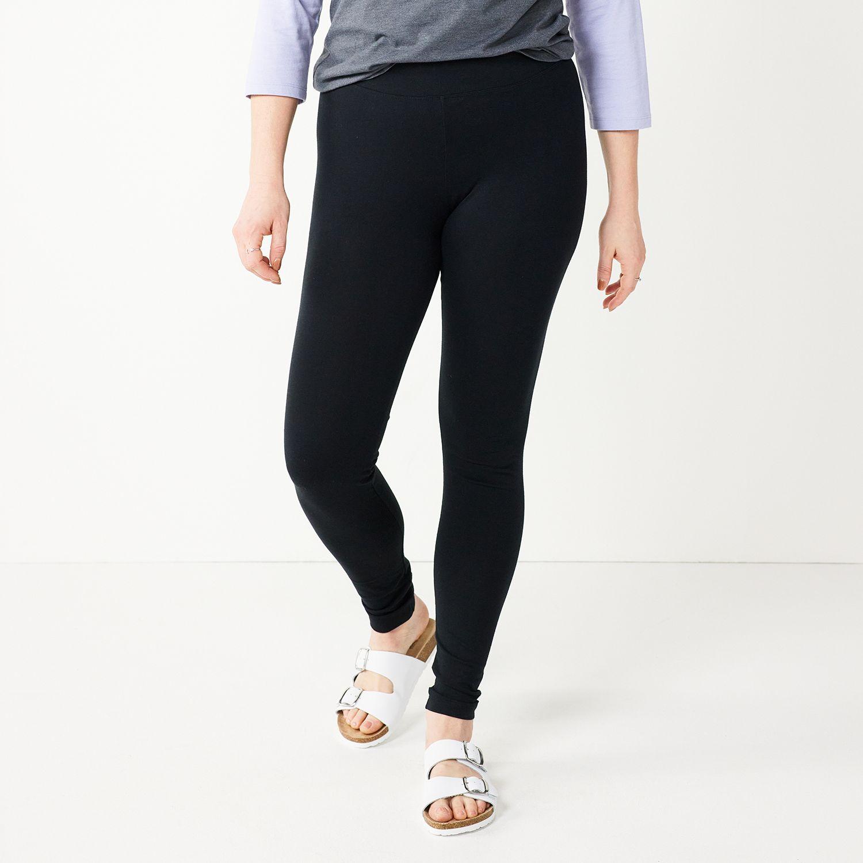 Women's SONOMA Goods for Life™ Jersey Midrise Leggings