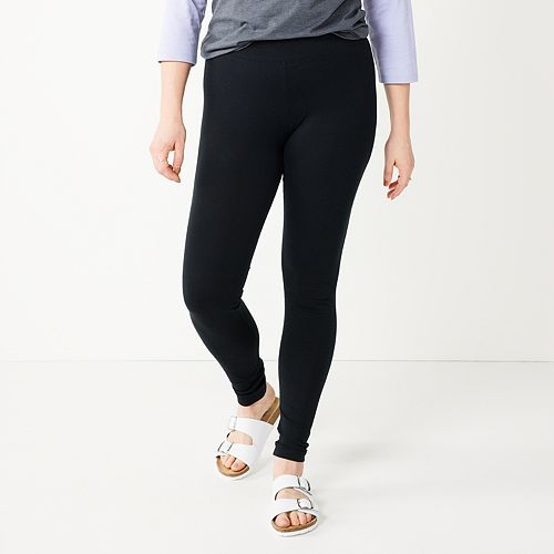 Women's SONOMA Goods for Life™ Jersey Midrise Leggings