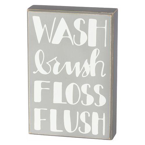 """""""Wash"""" Box Sign Art"""