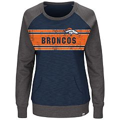 Plus Size Majestic Denver Broncos Classic Fleece