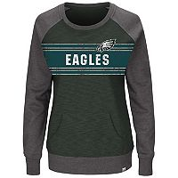Plus Size Majestic Philadelphia Eagles Classic Fleece