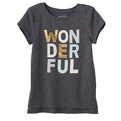 Toddler Girl Jumping Beans® 'Wonderful' Graphic Tee