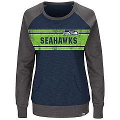 Plus Size Majestic Seattle Seahawks Classic Fleece