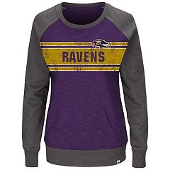 Plus Size Majestic Baltimore Ravens Classic Fleece