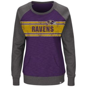 Plus Size Majestic Baltimore Ravens Classic Fleece