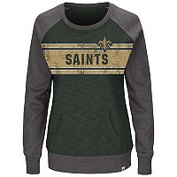 Plus Size Majestic New Orleans Saints Classic Fleece