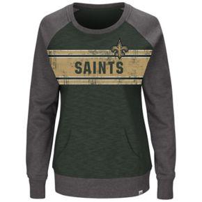 Plus Size Majestic New Orleans Saints Classic Fleece