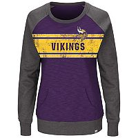 Plus Size Majestic Minnesota Vikings Classic Fleece