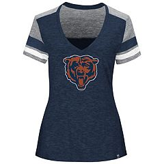 Plus Size Majestic Chicago Bears Hyper Slubbed Tee