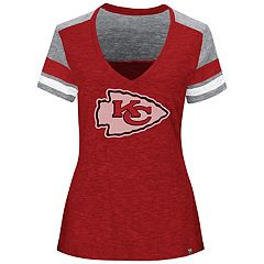 Plus Size Majestic Kansas City Chiefs Hyper Slubbed Tee