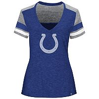 Plus Size Majestic Indianapolis Colts Hyper Slubbed Tee