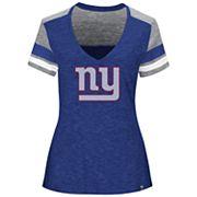 Plus Size Majestic New York Giants Hyper Slubbed Tee