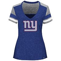 Plus Size Majestic New York Giants Hyper Slubbed Tee