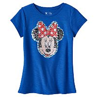 Disney's Minnie Mouse Girls 4-7 Flip Sequin Tee by Jumping Beans®