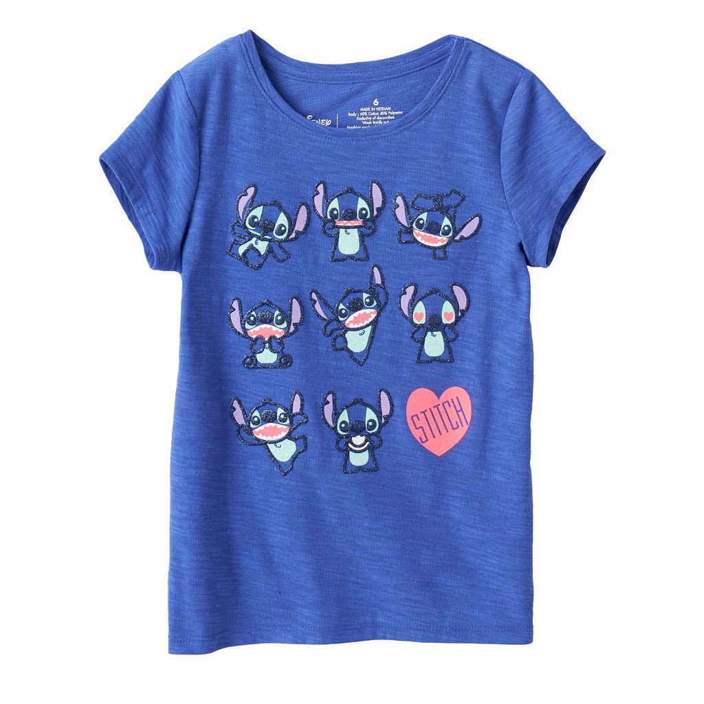 Disney's Lilo & Stitch Girls 4-7 Stitch Tee by Jumping Beans®
