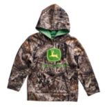 Toddler Boy John Deere Camouflaged Logo Hoodie