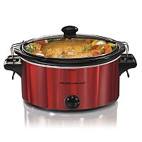 Hamilton Beach 5-qt. Stay or Go Slow Cooker with Clips
