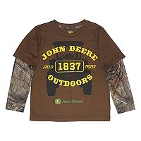 Boys 4-7 John Deere Camouflaged