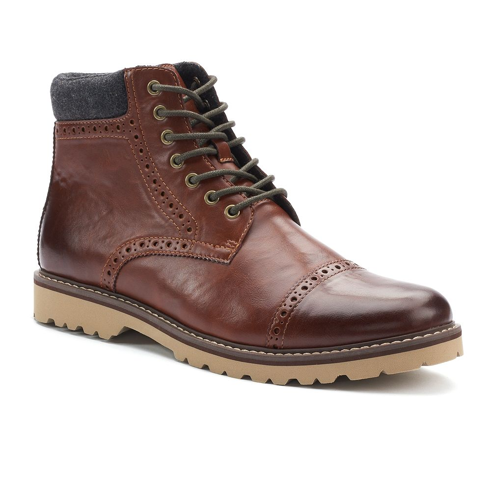 Bathroom scales boots - Sonoma Goods For Life Reddan Men S Casual Boots