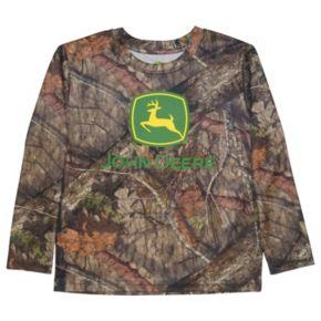 Boys 4-7 John Deere Camouflage Long-Sleeve Tee