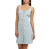 Women's Chaps Railroad-Stripe Jean Dress