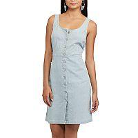 Women's Chaps Railroad-Stripe Jean Dress