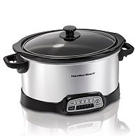 Hamilton Beach 6-qt. Programmable Slow Cooker
