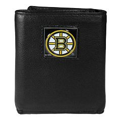 Men's Boston Bruins Trifold Wallet