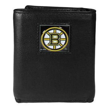 Men's Boston Bruins Trifold Wallet