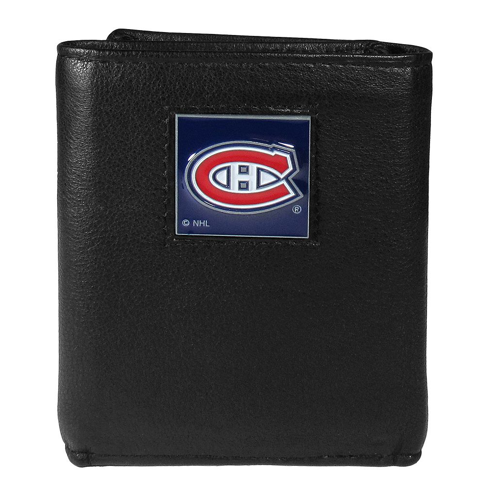 Men's Montreal Canadiens Trifold Wallet