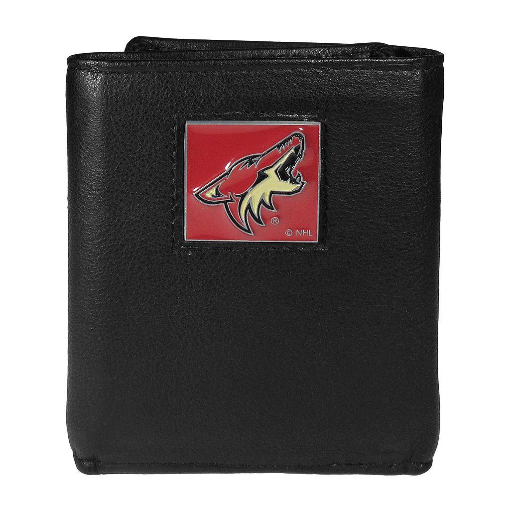 Men's Arizona Coyotes Trifold Wallet