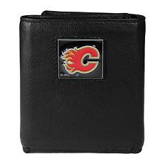 Men's Calgary Flames Trifold Wallet