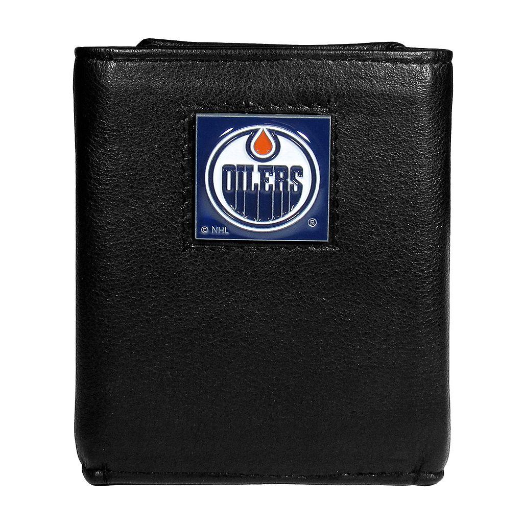 Men's Edmonton Oilers Trifold Wallet