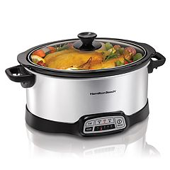 Hamilton Beach 7-qt. Programmable Slow Cooker