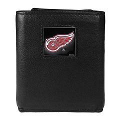 Men's Detroit Red Wings Trifold Wallet