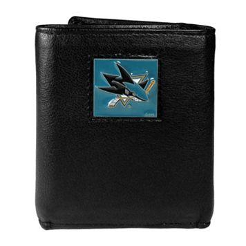 Men's San Jose Sharks Trifold Wallet