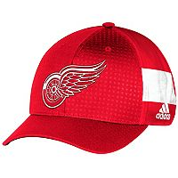 Adult adidas Detroit Red Wings NHL Draft Flex-Fit Cap