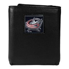 Men's Columbus Blue Jackets Trifold Wallet