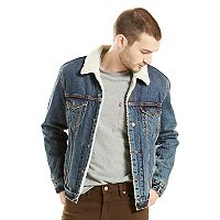 Men's Levi's® Sherpa-Line Trucker Jacket