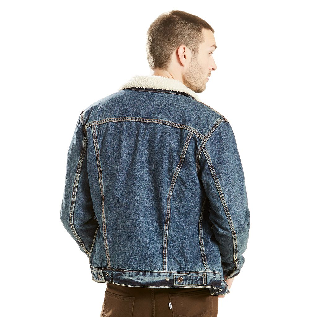 Men's Levi's® Denim Sherpa Trucker Jacket