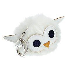 Owl Pom Pom Key Chain
