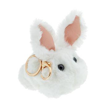 Bunny Pom Pom Key Chain