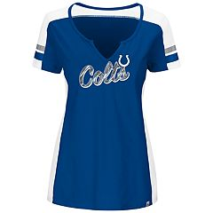 Plus Size Majestic Indianapolis Colts Notched Tee
