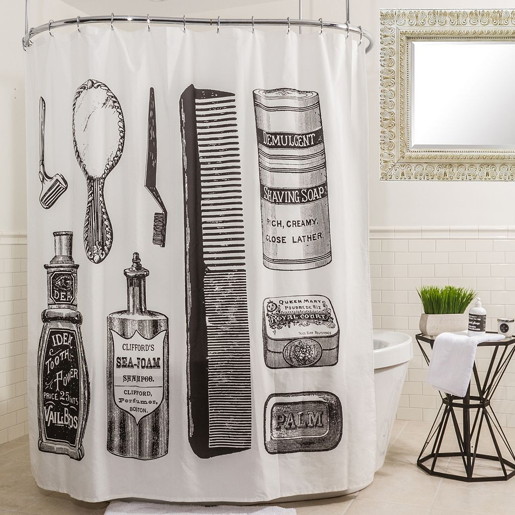 Splash Home Vanity Shower Curtain