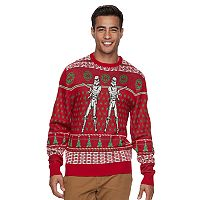 Men's Star Wars Stormtrooper Ugly Christmas Sweater