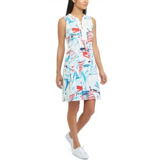 Women's Chaps Sailboat Lace-Up Dress