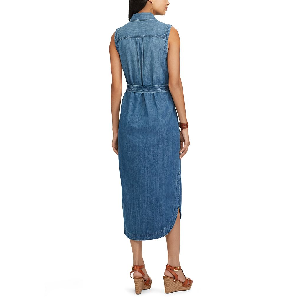 Women's Chaps Jean Shirtdress