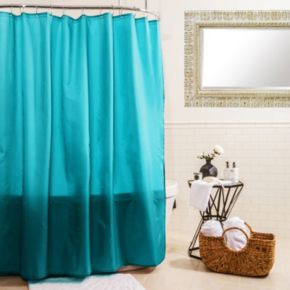 Splash Home Shimmer Shower Curtain Liner