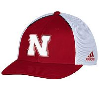 Adult adidas Nebraska Cornhuskers Spring Game Adjustable Cap
